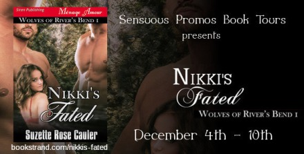 Suzette Rose Cauler - Nikki's Fated Book Tour